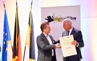 """Metropolregion Rhein-Neckar überzeugt  beim Wettbewerb """"Digitale Zukunftskommune@bw"""""""